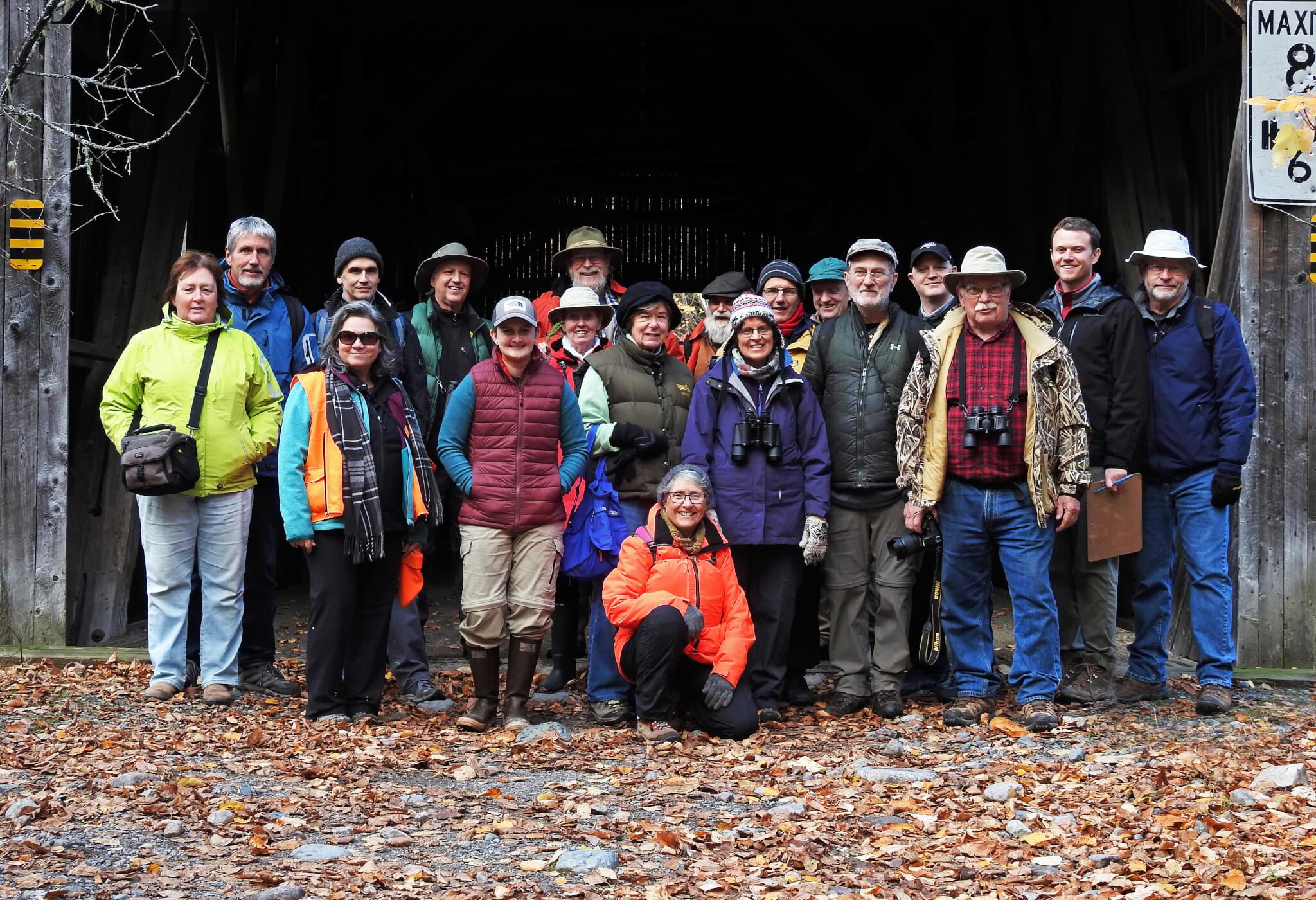 Caledonia Gorge PNA Field Trip Group by Brian Stone