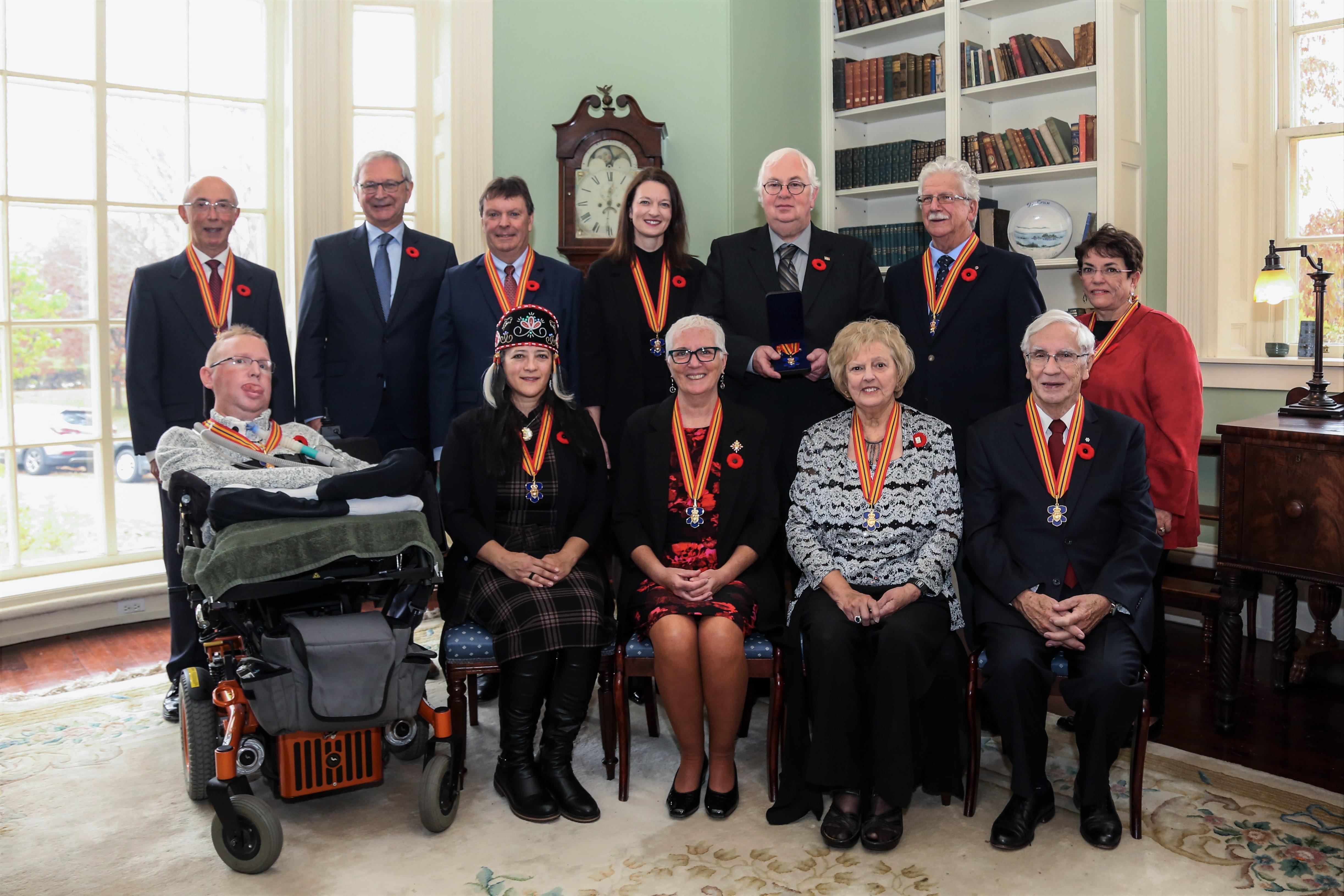 2019 Order of New Brunswick Recipients