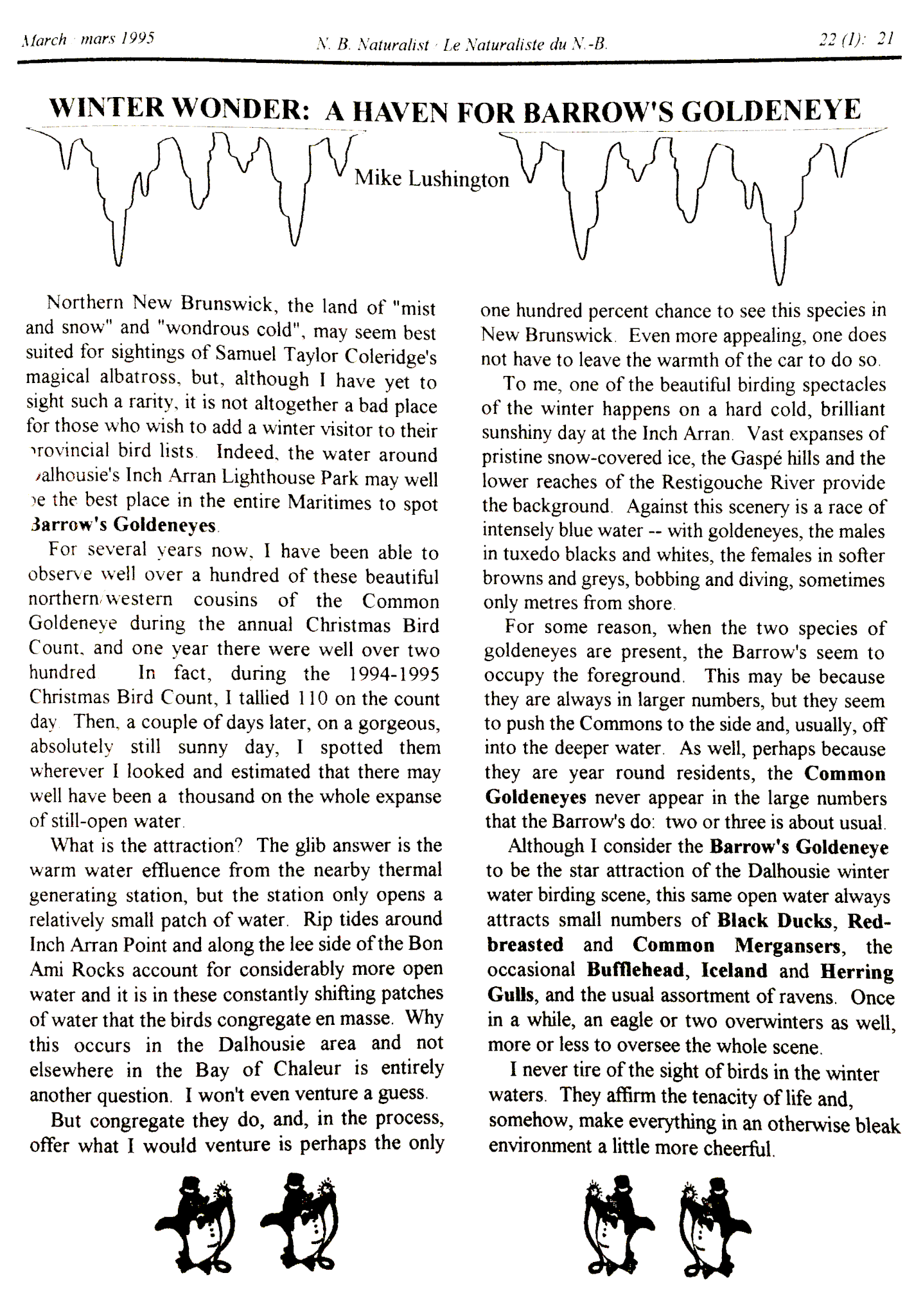 Lushington Article 1995